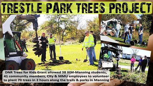 Trestle Park Tree Project